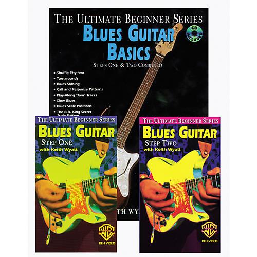 Alfred Blues Guitar Basics Mega Pak Book/CD/Video