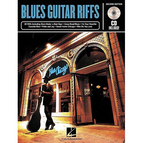 Hal Leonard Blues Guitar Riffs - 2nd Edition (Book/CD)