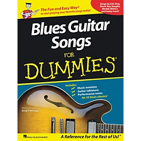 hal leonard blues guitar songs for dummies guitar tab songbook musician 39 s friend. Black Bedroom Furniture Sets. Home Design Ideas