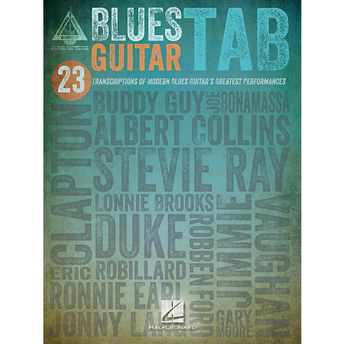 Hal Leonard Blues Guitar Tab Songbook