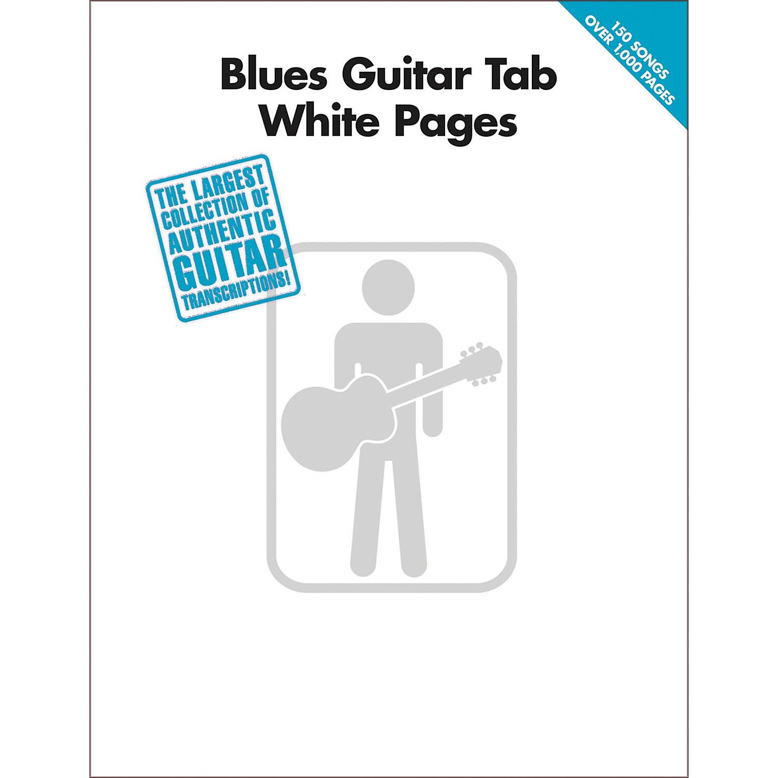 Hal Leonard Blues Guitar Tab White Pages