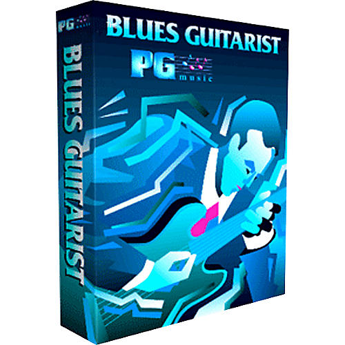 PG Music Blues Guitarist MultiMedia Music Program