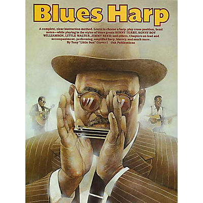 Music Sales Blues Harp Music Sales America Series Written by Tony Glover