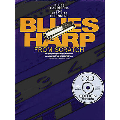 Music Sales Blues Harp from Scratch Music Sales America Series Softcover with CD Written by Mick Kinsella