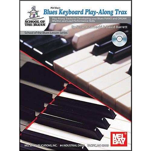 Mel Bay Blues Keyboard Play-Along Trax Book and CD