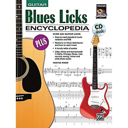 Alfred Blues Licks Encyclopedia Book & CD