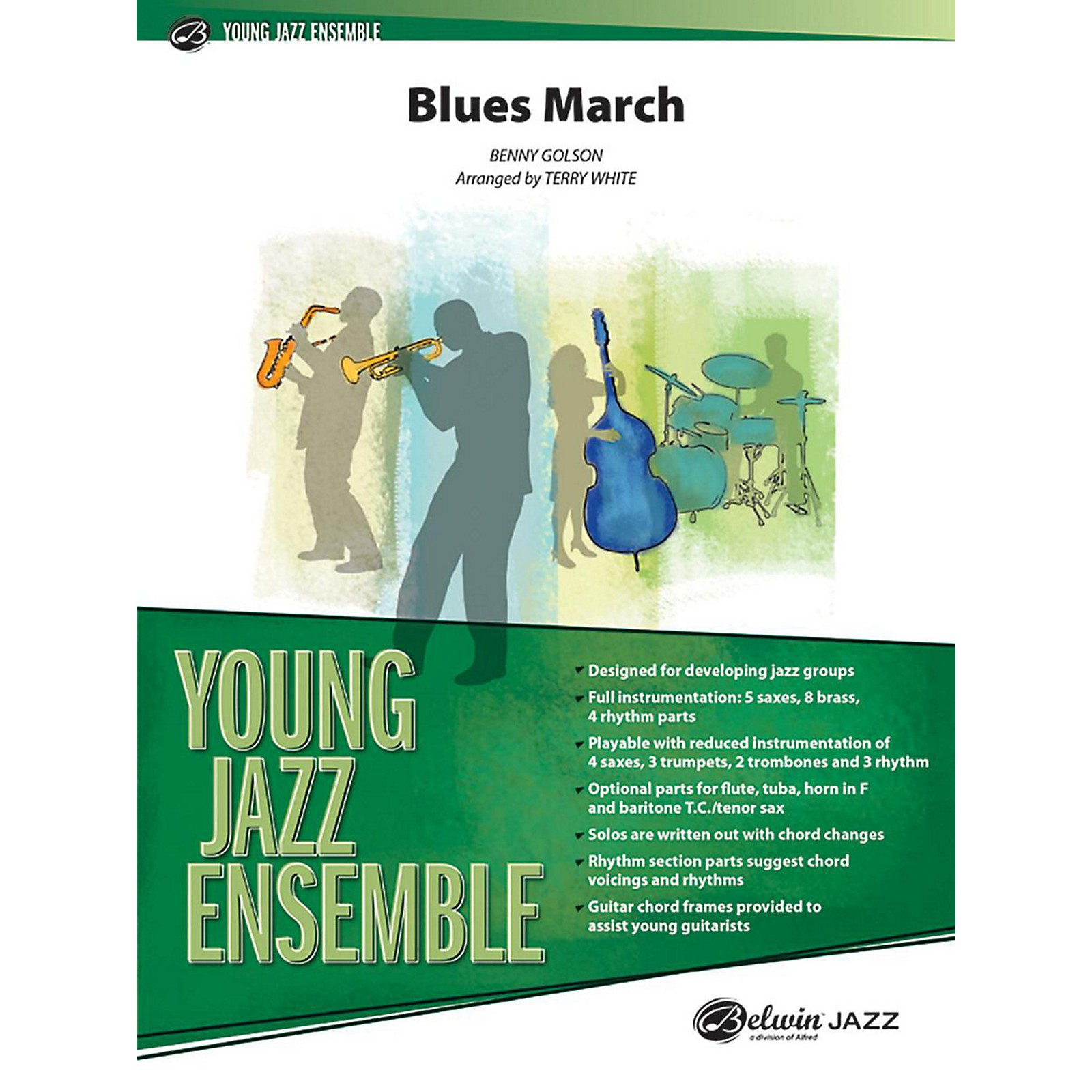 Alfred Blues March Jazz Band Grade 2 Set