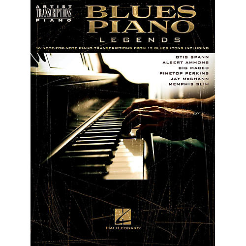 Hal Leonard Blues Piano Legends - Artist Transcriptions