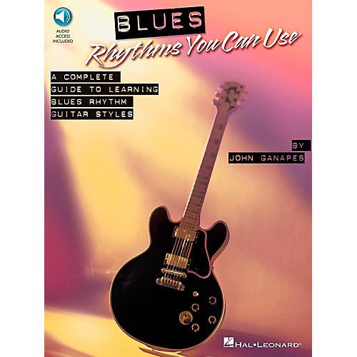 Hal Leonard Blues Rhythms You Can Use Book/Online Audio