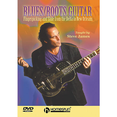 Homespun Blues/Roots Guitar (DVD)