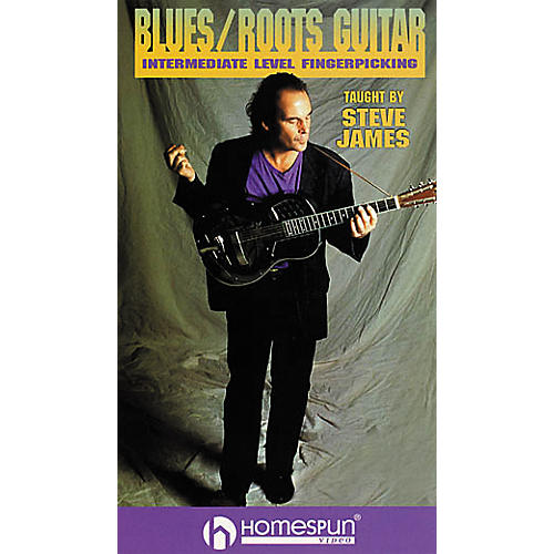 Homespun Blues/Roots Guitar (VHS)