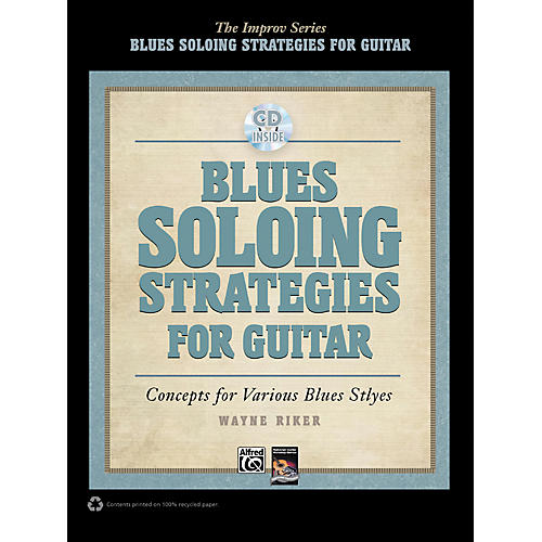 Alfred Blues Soloing Strategies for Guitar - Book & CD