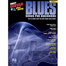 Berklee Press Blues Songs For Beginners - Easy Guitar Play-Along Volume 7 Book/CD