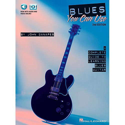 Hal Leonard Blues You Can Use - 2nd Edition Book/Audio/Video Online