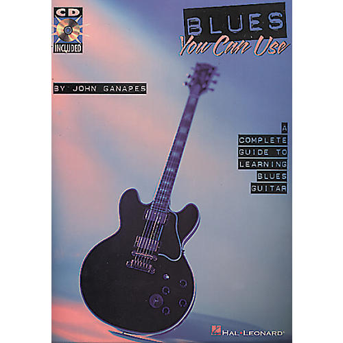 Hal Leonard Blues You Can Use Book/CD