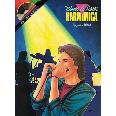 Hal Leonard Blues and Rock Harmonica Book/CD