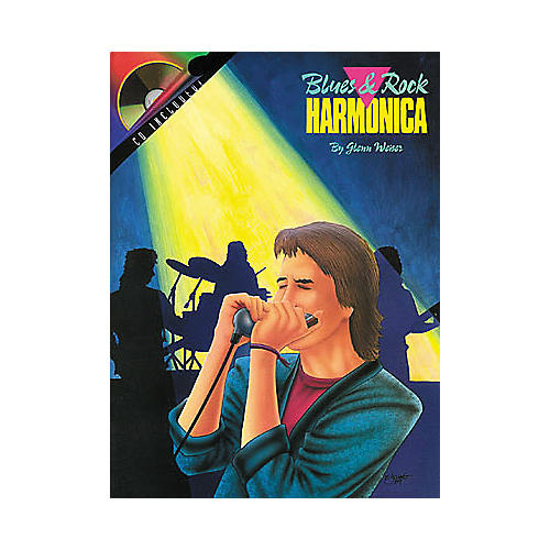 Hal Leonard Blues and Rock Harmonica Book/CD