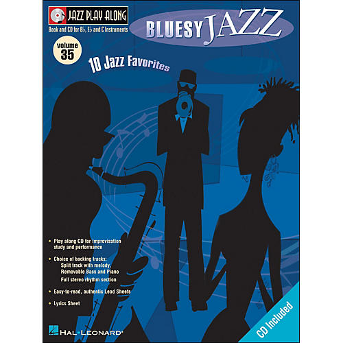 Hal Leonard Bluesy Jazz Volume 35 Book/CD Jazz Play Along
