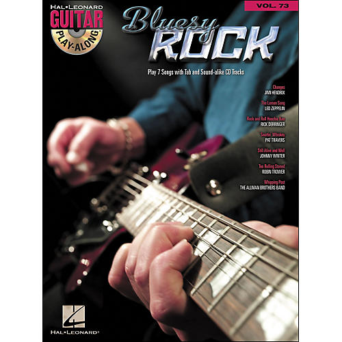 Hal Leonard Bluesy Rock - Guitar Play-Along Volume 73 (Book/CD)