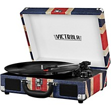Open Box Victrola Bluetooth Portable Suitcase Record Player