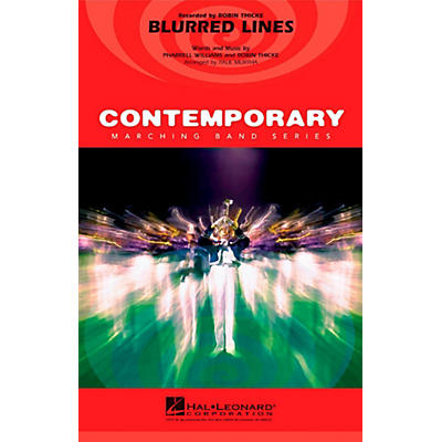 Hal Leonard Blurred Lines - Pep Band/Marching Band Level 3