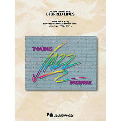 Hal Leonard Blurred Lines  - Young Jazz (Jazz Ensemble) Level 3