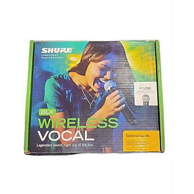 Shure Blx24/58 Handheld Wireless System