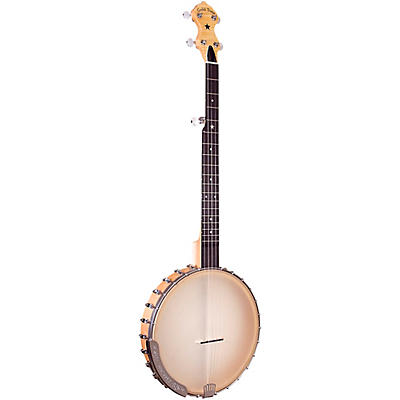 """Gold Tone Bob Carlin Signature Series Left-Handed 12"""" Clawhammer Banjo For Left Hand Players"""