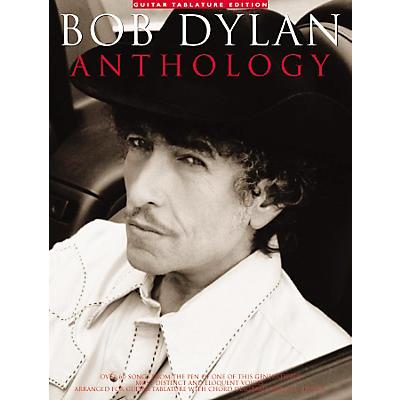 Music Sales Bob Dylan Anthology Guitar Tab Songbook