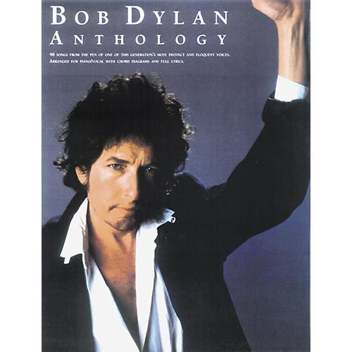 Music Sales Bob Dylan Anthology