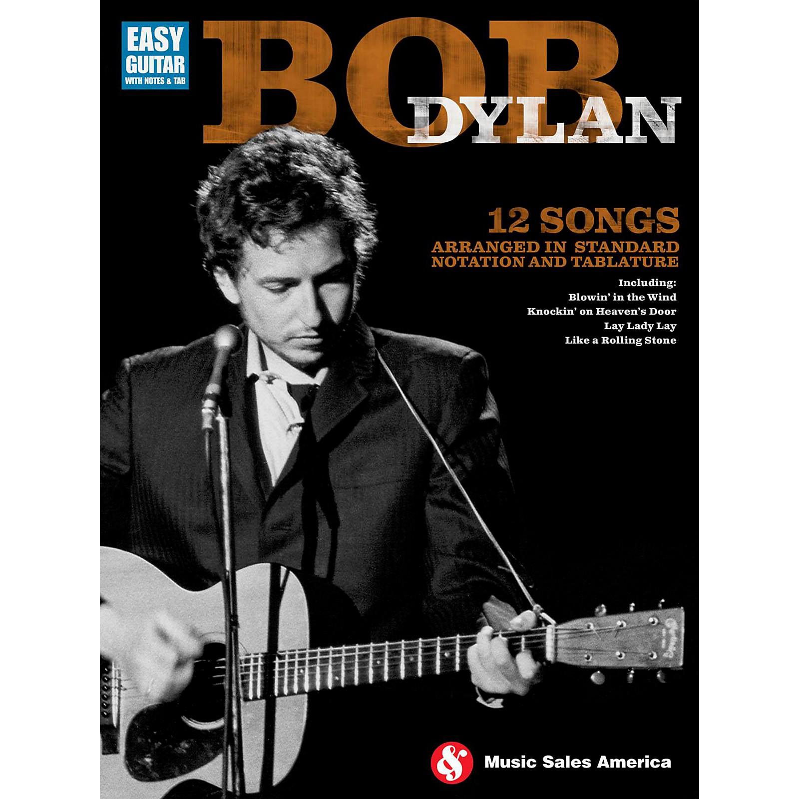 Music Sales Bob Dylan For Easy Guitar
