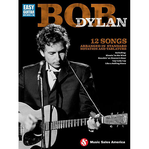 Music Sales Bob Dylan For Easy Guitar