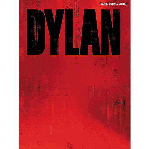 Music Sales Bob Dylan Red Piano, Vocal, & Guitar Songbook