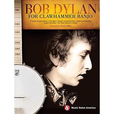Hal Leonard Bob Dylan for Clawhammer Banjo Banjo Series Softcover Performed by Bob Dylan