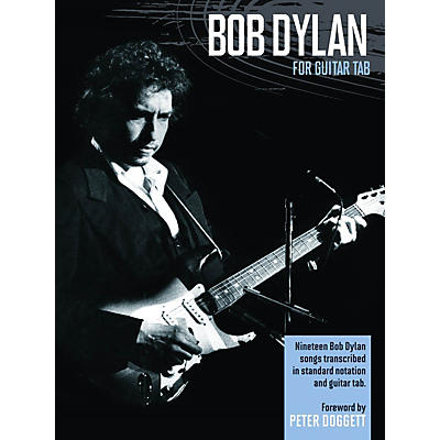 Music Sales Bob Dylan for Guitar Tab Guitar Recorded Version Series Softcover Performed by Bob Dylan