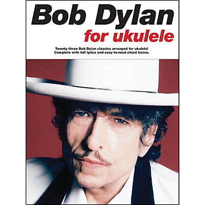 Music Sales Bob Dylan for Ukulele Songbook