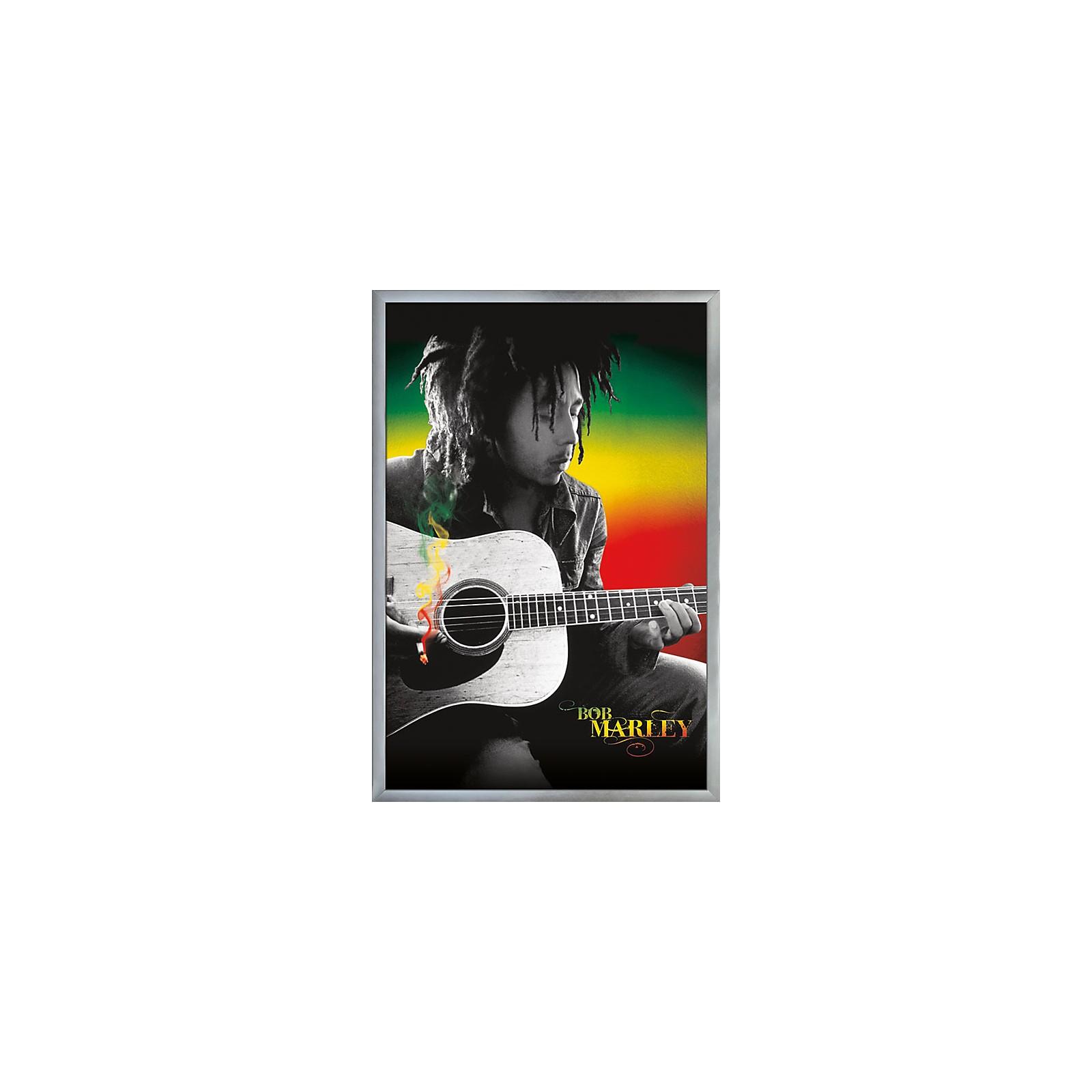 Trends International Bob Marley - Acoustic Guitar Poster