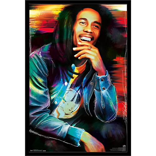 Trends International Bob Marley - Etched Poster
