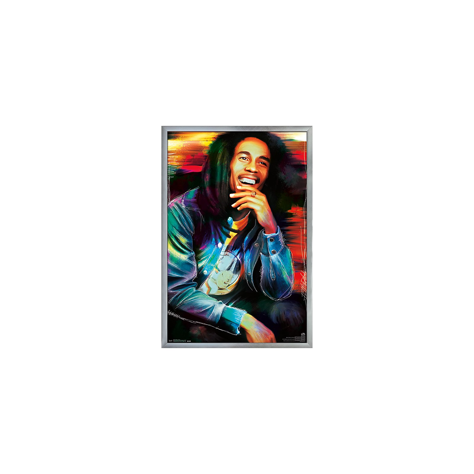 Trends International Bob Marley - Etched Poster