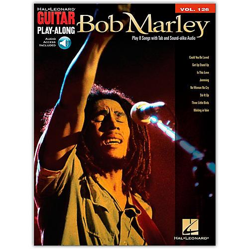 Hal Leonard Bob Marley - Guitar Play-Along Volume 126 (Book/Online Audio)