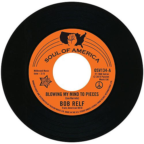 Alliance Bob Relf - Blowing My Mind to Peices / Girl You're My Kind