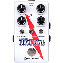 Open Box Pigtronix Bob Weir's Real Deal Acoustic Guitar Preamp Pedal