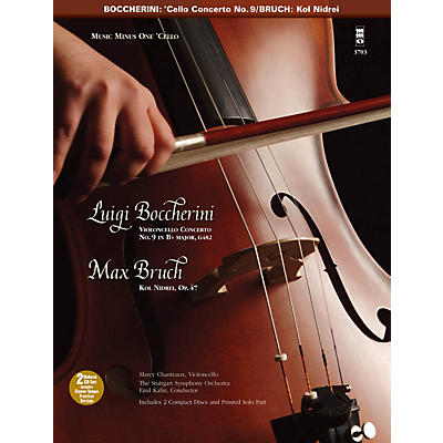 Music Minus One Boccherini - Violoncello Conc No. 9 in B-flat Major Music Minus One BK/CD by Chanteaux