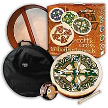 Bodhran Gift Pack Celtic Cross 18 in.