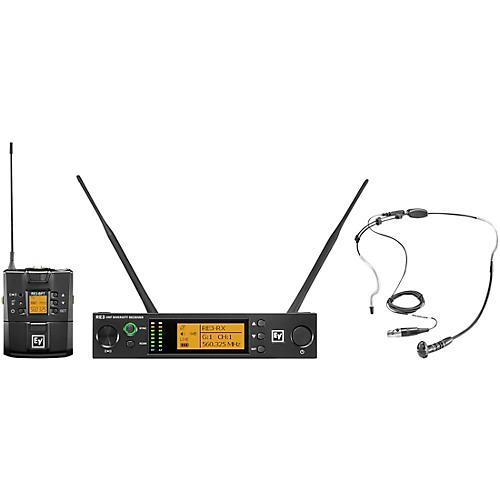 Electro-Voice Bodypack Set Headworn Mic
