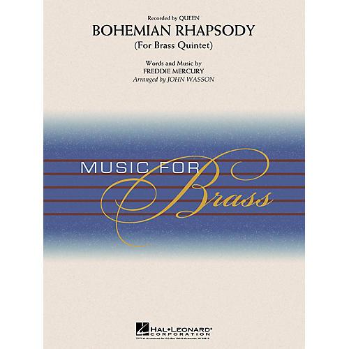 Hal Leonard Bohemian Rhapsody (Brass Quintet) Concert Band Level 3-4 by Queen Arranged by John Wasson