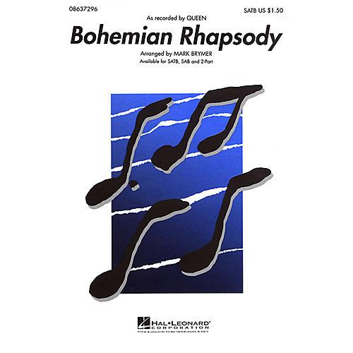Hal Leonard Bohemian Rhapsody ShowTrax CD by Queen Arranged by Mark Brymer