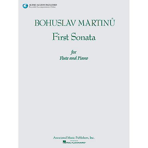 Associated Bohuslav Martinu First Sonata for Flute and Piano Book/CD