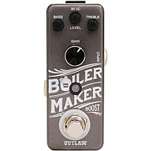 Open Box Outlaw Effects Boilermaker Clean Boost Guitar Effects Pedal