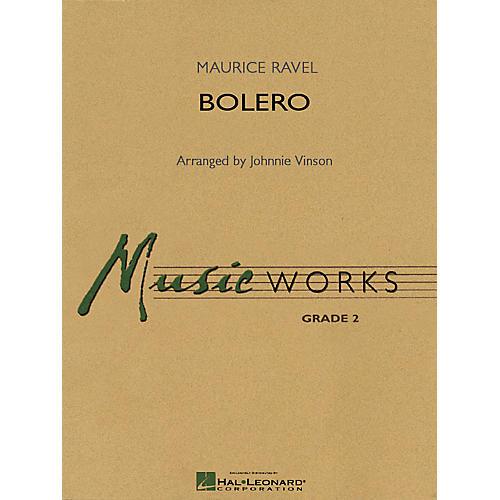 Hal Leonard Bolero (Young Concert Band Edition) (MusicWorks Grade 2) Concert Band Level 2 Arranged by Johnnie Vinson